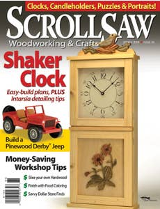Scroll Saw Woodworking & Crafts Issue 30 Spring 2008