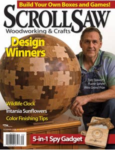 Scroll Saw Woodworking & Crafts Issue 31 Summer 2008