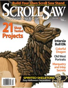 Scroll Saw Woodworking & Crafts Issue 32 Fall 2008