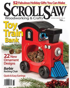 Scroll Saw Woodworking & Crafts Issue 33 Holiday 2008