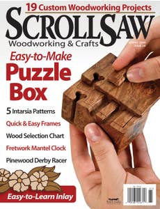 Scroll Saw Woodworking & Crafts Issue 34 Spring 2009