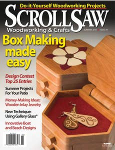Scroll Saw Woodworking & Crafts Issue 39 Summer 2010