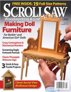 Scroll Saw Woodworking & Crafts Issue 43 Summer 2011