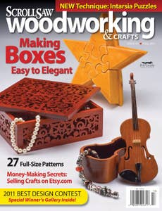 Scroll Saw Woodworking & Crafts Issue 44 Fall 2011