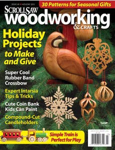 Scroll Saw Woodworking & Crafts Issue 49 Holiday 2012