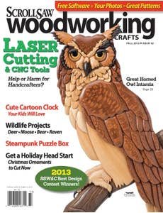 Scroll Saw Woodworking & Crafts Issue 52 Fall 2013