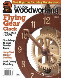 Scroll Saw Woodworking & Crafts Issue 56 Fall 2014