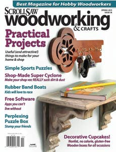 Scroll Saw Woodworking & Crafts Issue 58 Spring 2015