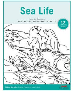 Sea Life Pattern Package By Lora S. Irish
