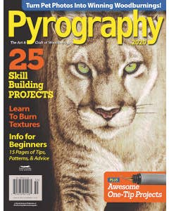Pyrography Magazine - The Art & Craft of Woodburning