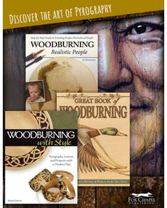 Books to Inspire Woodburning Creativity