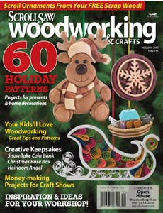 Scroll Saw Woodworking & Crafts Issue 61 Holiday 2015