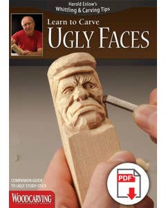Learn to Carve Ugly Faces Booklet (Download)