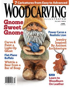 Woodcarving Illustrated Issue 92 Fall 2020 - 7 Caricatures from Easy to Advanced