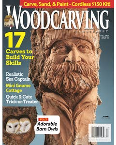 Woodcarving Illustrated Issue 96 Fall 2021