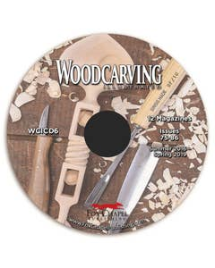 Woodcarving Illustrated Archive CD Volume 6 - Issue 75 (Summer 2016) through Issue 86 (Spring 2019)