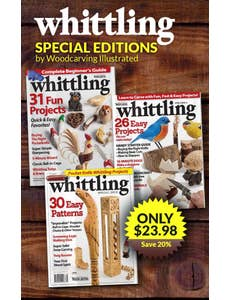 Whittling Special Editions by Woodcarving Illustrated