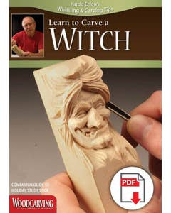Learn to Carve a Witch Booklet (Download)