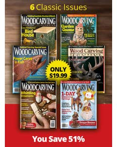 Woodcarving Magazine Collectors Pack 2021