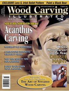 Wood Carving Illustrated - Issue 23 - Summer 2003