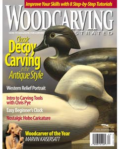 Wood Carving Illustrated Issue 36 Fall 2006