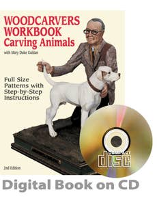 Woodcarvers Workbook #1 - Carving Animals (CD)