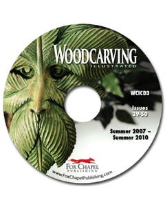 Woodcarving Illustrated Archive CD Volume 3