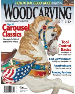 Woodcarving Illustrated Issue 39 Summer 2007