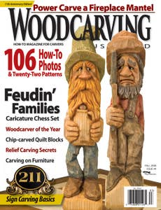 Woodcarving Illustrated Issue 44 Fall 2008