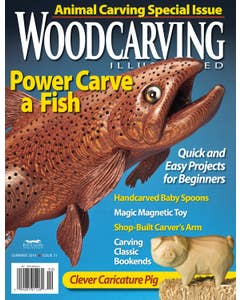 Woodcarving Illustrated Issue 51 Summer 2010