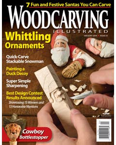 Woodcarving Illustrated Issue 53 - Holiday 2010