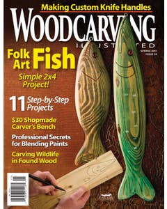 Woodcarving Illustrated Issue 54 Spring 2011