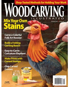 Woodcarving Illustrated Issue 58 Spring 2012