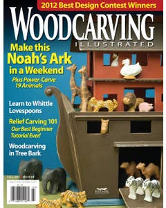 Woodcarving Illustrated Issue 60 Fall 2012