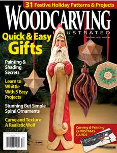Woodcarving Illustrated Issue 61 Holiday 2012