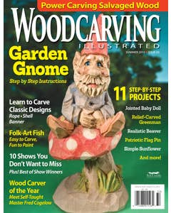 Woodcarving Illustrated Issue 63 Summer 2013