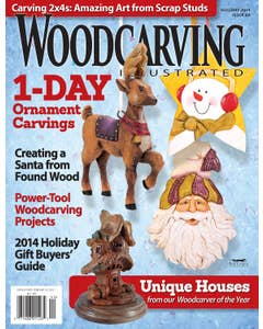 Woodcarving Illustrated Issue 69 Holiday 2014