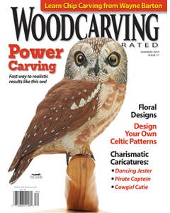 Woodcarving Illustrated Issue 71 Summer 2015