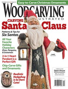 Woodcarving Illustrated Issue 73 Holiday 2015
