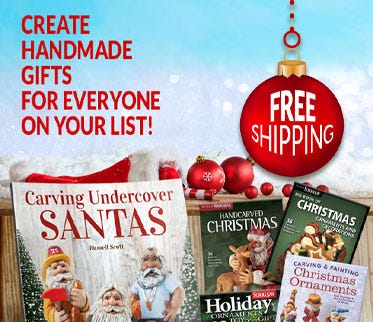 Create handmade gifts for everyone on your list! - FREE SHIPPING With $20 Order - U.S. Only