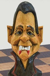 Count Dracula: A Halloween Wood Carving Pattern