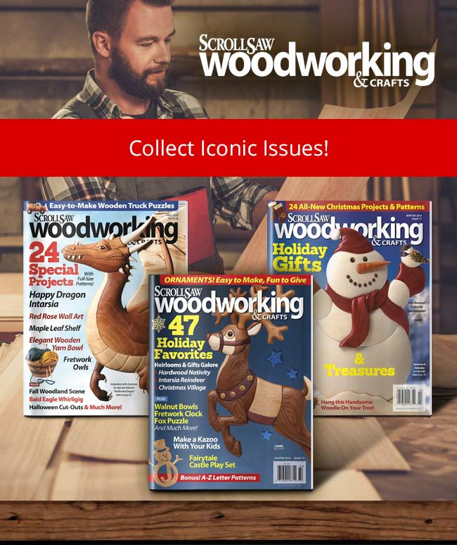 Scroll Saw Woodworking & Craft - Collect Iconic Issues!